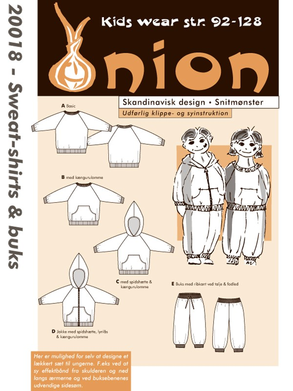 Onion 20018, sweat-shirts og buks