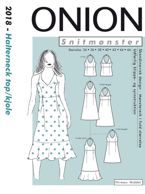 Onion 2018 - Halterneck top/kjole
