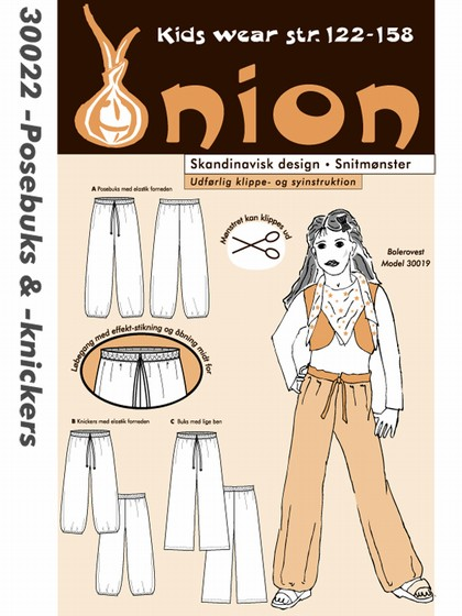 onion 30022, posebuks og -knickers